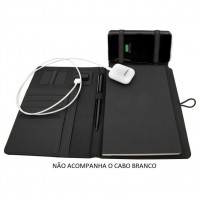 Caderno com Powerbank