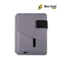 Caderno com Powerbank Personalizado | Caderno Power Bank - BEE COOL BRINDES