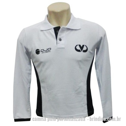 Camisa Polo Personalizada  42fb34040be3c