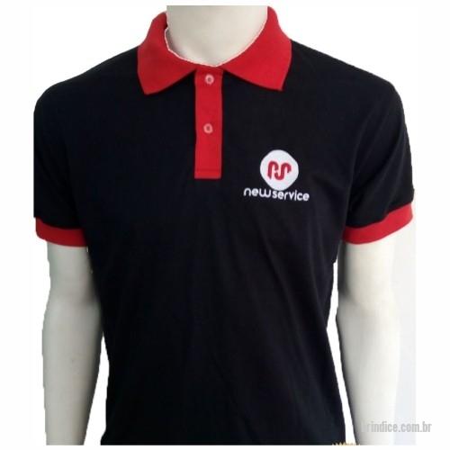 Camisa polo personalizada - Pólo Confeccionada em Malha Piquet Bordada ou  Silk cd58ce7d5e7a8
