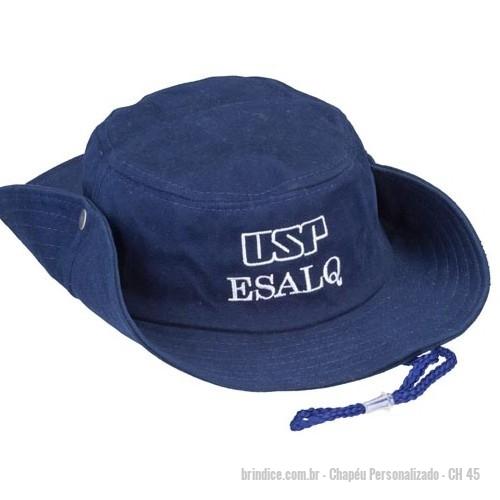Chapéu personalizado - Chapeu modelo Austráliano pescadorcom cordão...  tecido brim ou microfibra 3fa09278c6d