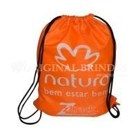 8ab1f7954 Mochila saco Personalizada | Sacola mochila com alça dupla de ombro em  cordão. Disponível em