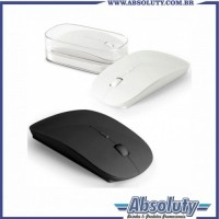 Mouse Personalizado | Mouse wireless 2,4G. ABS. Incluso 2 pilhas AAA. Em caixa transparente. 57 x 113 x 20 mm