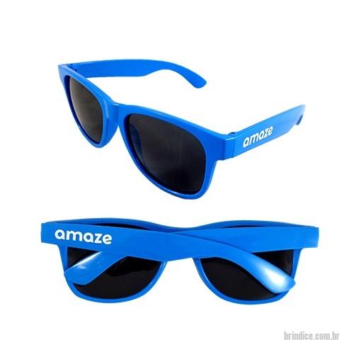 Óculos de Plástico personalizados - Óculos plástico personalizado. Proteção  UV 400. Medidas  14 ee8907b52b
