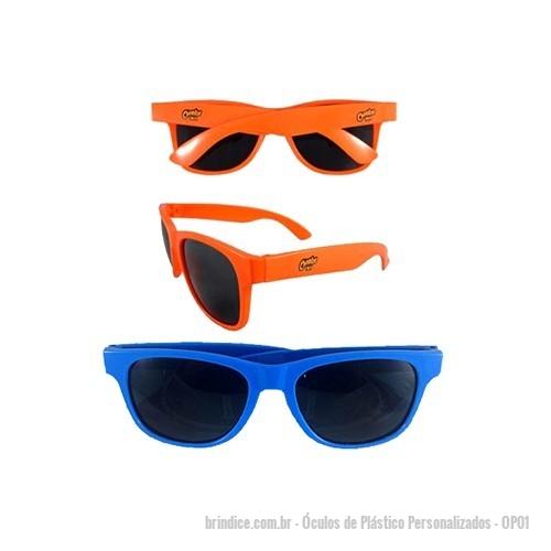 Óculos de Plástico personalizados - Óculos Promocional Plástico. Incluso 1  Cor de Gravação em nas 75522c9e57