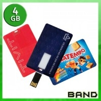 Pen Card Personalizado | Pen Card 4 GB - BAND BRINDES