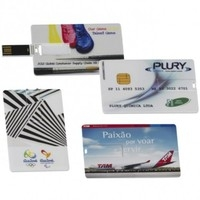 Pen Card Personalizado | Pen Card - Personalizado - 4 GB e 8GB