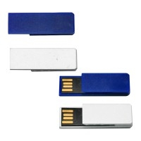 Pen Drive Personalizado | Pen Drive Clips Color - DIRECT BRINDES