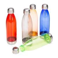 e987ba7b5 Squeeze plástico Personalizado | Squeeze plástico 700ml formato garrafa.  Corpo transparente colorido, possui tampa