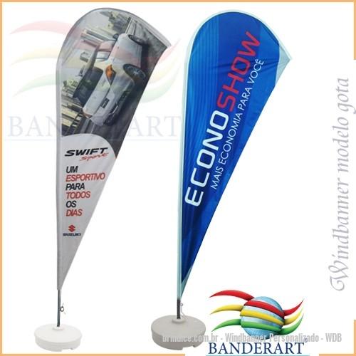 Windbanner personalizado - Wind banner® é ideal para divulgação, em eventos  em geral, a76837e0e5